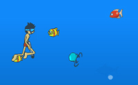 Pêcheur plongeur