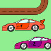 Carrera Racing Coloring Games
