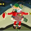 Weihnachtsmann balancieren