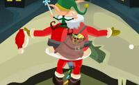 Kerstman Balanceren