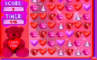 Bejeweled version Saint-Valentin