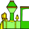 Lokomotive Malen Spiele