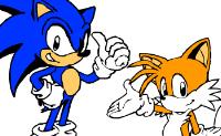 kolorowanie Sonic