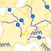Berge und Flüsse Europas Spiele