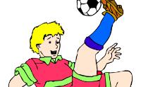 Kolorowanie Piłka nożna