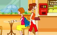 Kelnerka w Kafejce