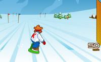Snowboard fahren 13