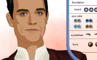 Make-up Robbie Williams