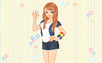 Dress-up Beautiful Girl 2