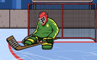 Hockey Torwart