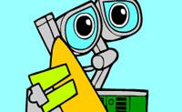 Kolorowanki Wall-E