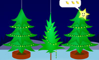 Groeiende kerstbomen