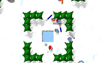 Battaglia a palle di neve 7