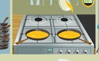 Omelett Braten