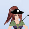 Pirate girl Make-up Games