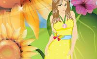 Veste a Rapariga das Flores