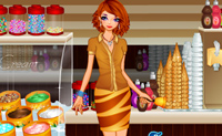 Dressup Ice Cream Girl