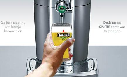 bier tappen spel