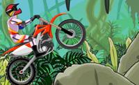 Acrobacias de Moto na Lama