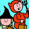 Online Halloween Kleuren 3 Spelletjes