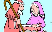 Malvorlage Weihnachtsstimmung