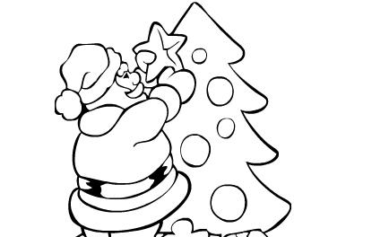 Disegni Da Colorare Per Le Feste Di Natale Gioca Ora Gratis Ai