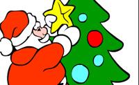 Lámina para colorear Navidad 5