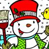 Winter Malen 3 Spiele