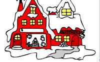 Coloriage d'hiver 4