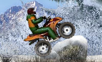 Quad en la nieve