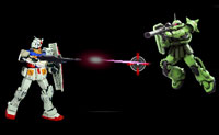 Vestido de Guerra Espacial Gundam