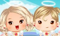 Engeltjes Aankleden