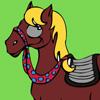 online kleuren paard