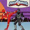 игры Могучие Рейнджеры против робота