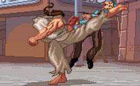 Verrückter Karatekämpfer