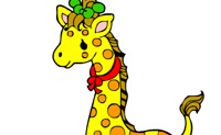 Coloring Picture Giraffe