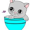 Online farvelægning kat Spil