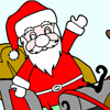 Farvelæg julemanden Spil