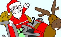 Colorea a Papá Noel