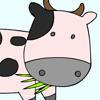 игры Раскрась корову