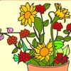 Colour the flowers Games