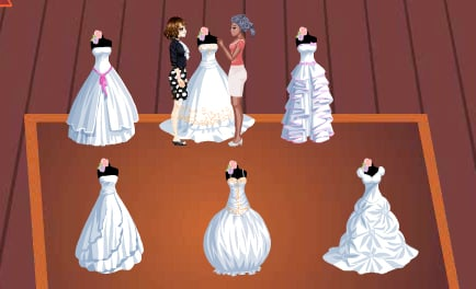 Juegos de butik de vestidos de novia