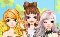 Tres amigas en verano