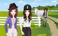 At kızları için moda