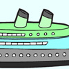 Color the steamboat Games