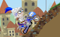 Motocross medieval