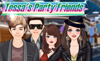 Tessa's Party Friends