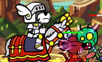 Le chien chevalier