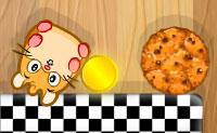 Hamsterul și biscuiții
