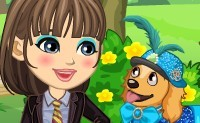 Dora et son chien
